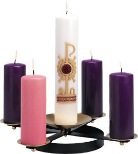 Advent Wreath with spikes