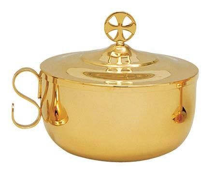 Ciborium, 400 Host Capacity, Gold Plated