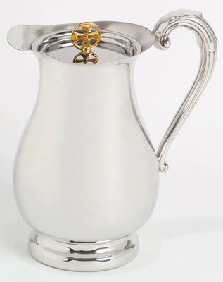 Flagon, Pewter, with Cover
