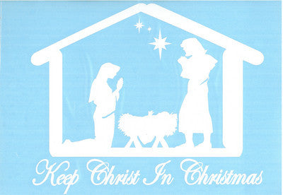 Decal Nativity