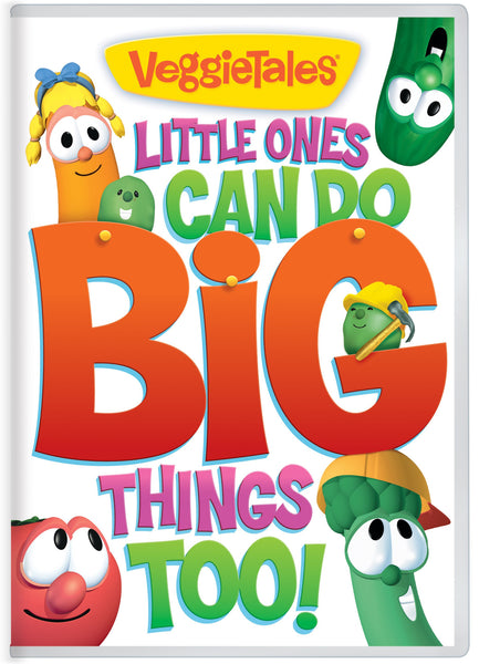 Little Ones Can Do Big Things Too! VeggieTales DVD