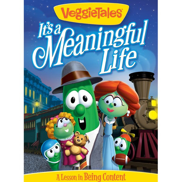It's A Meaningful Life VeggieTales DVD