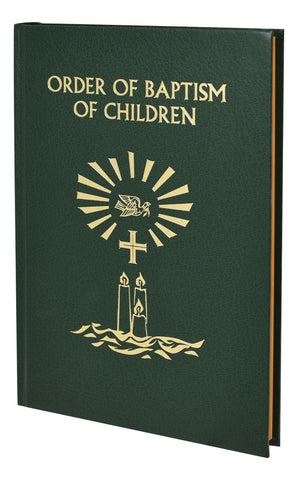 Order Of Baptism Of Children: Second Edition