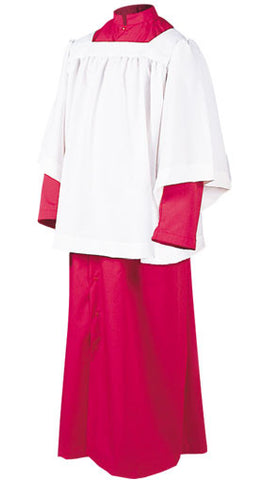 Roman Cassocks - Altar Server - Style 215S - Snap Front