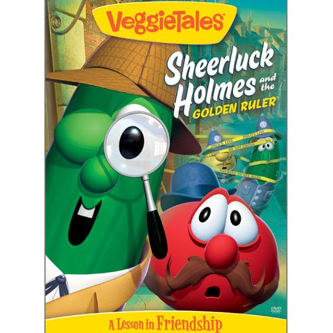 Sheerluck Holmes and the Golden Ruler VeggieTales (DVD)