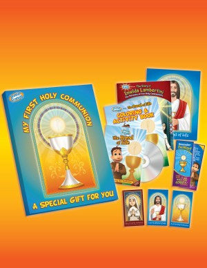 Brother Francis First Holy Communion Gift Set