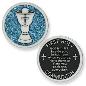 First Communion Token with Chalice