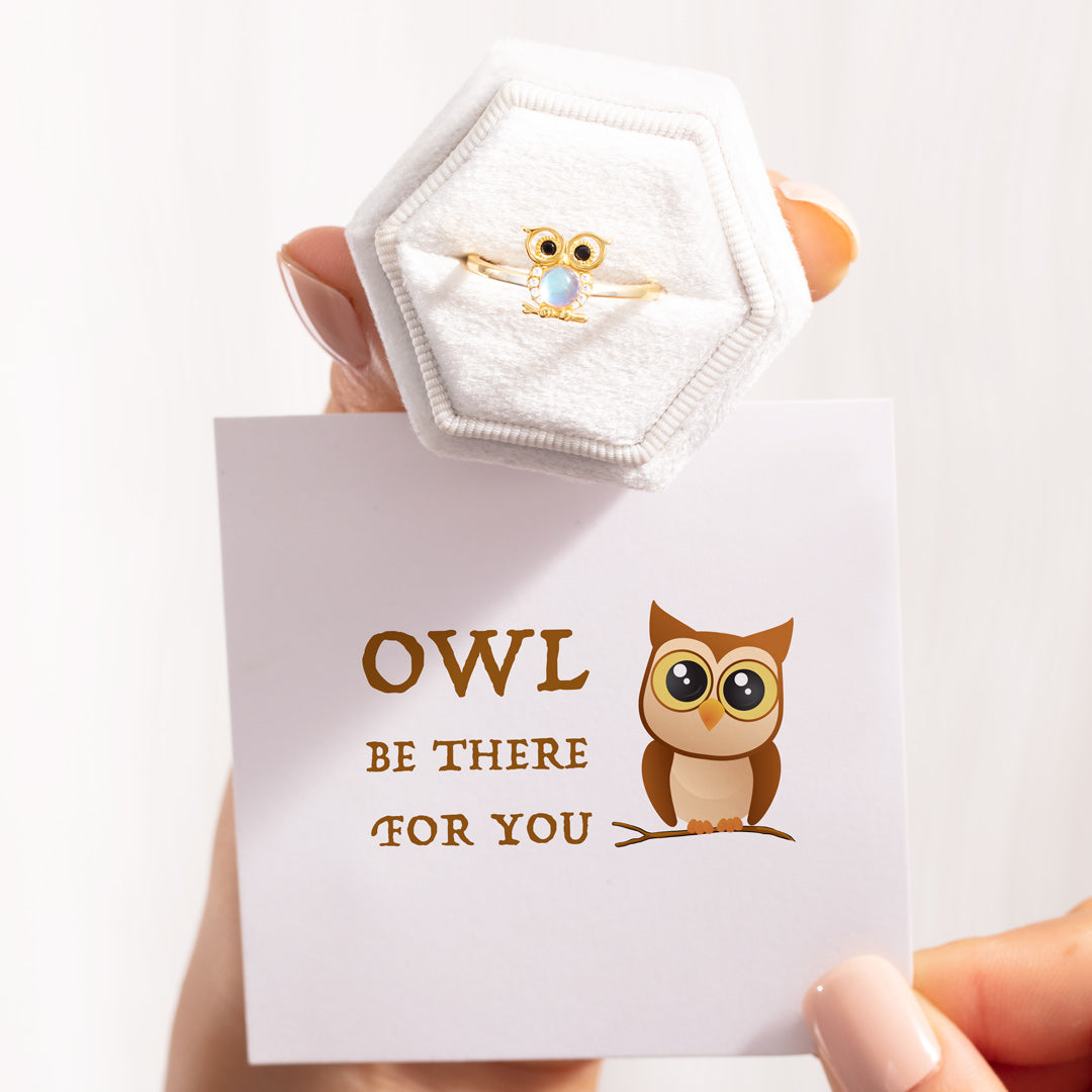 Owl Ring - Owl Be There for You