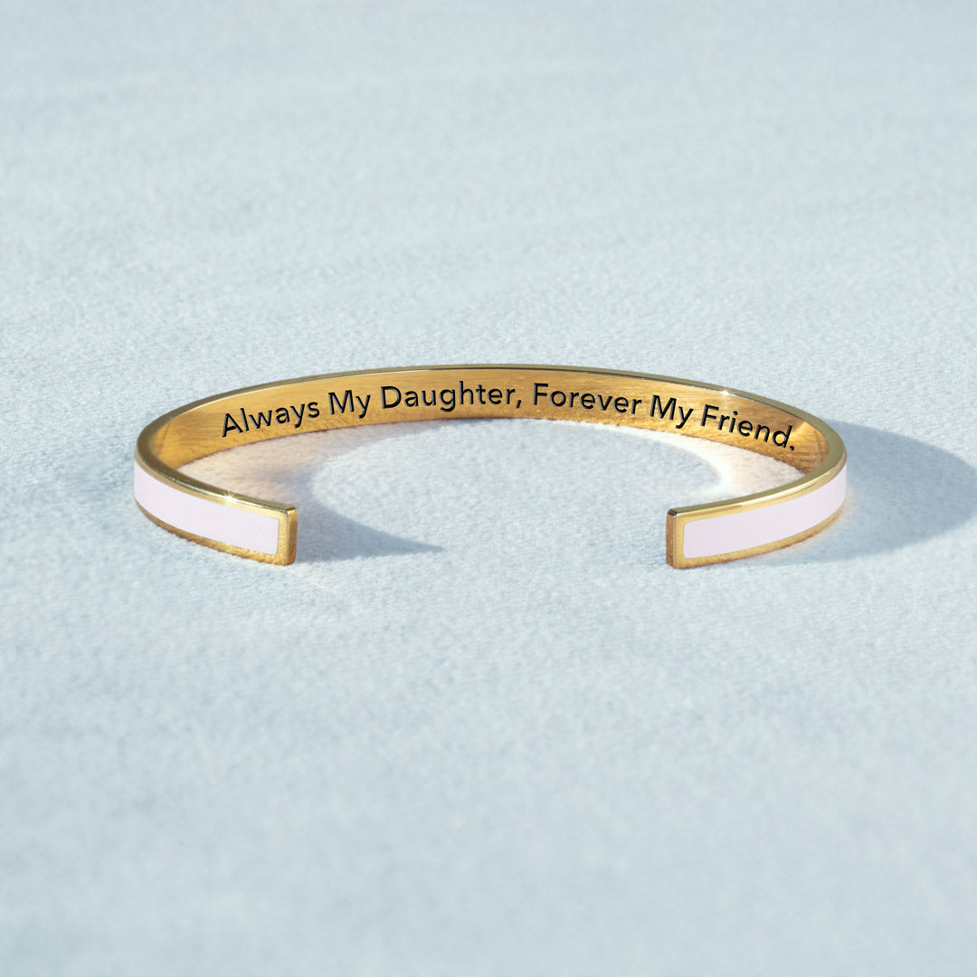 Color Bangle - Always My Daughter, Forever My Friend