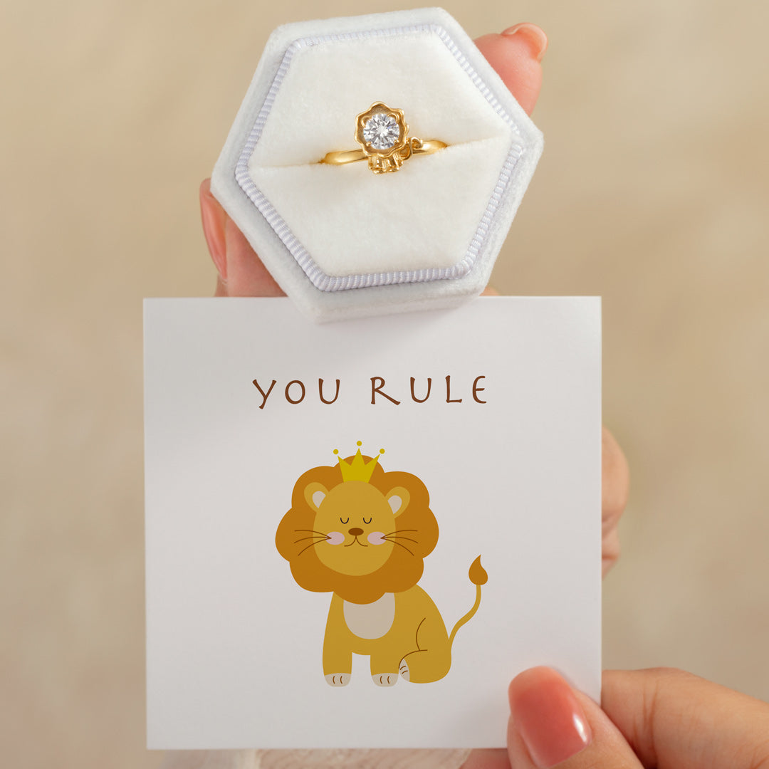 Lion Ring - You Rule