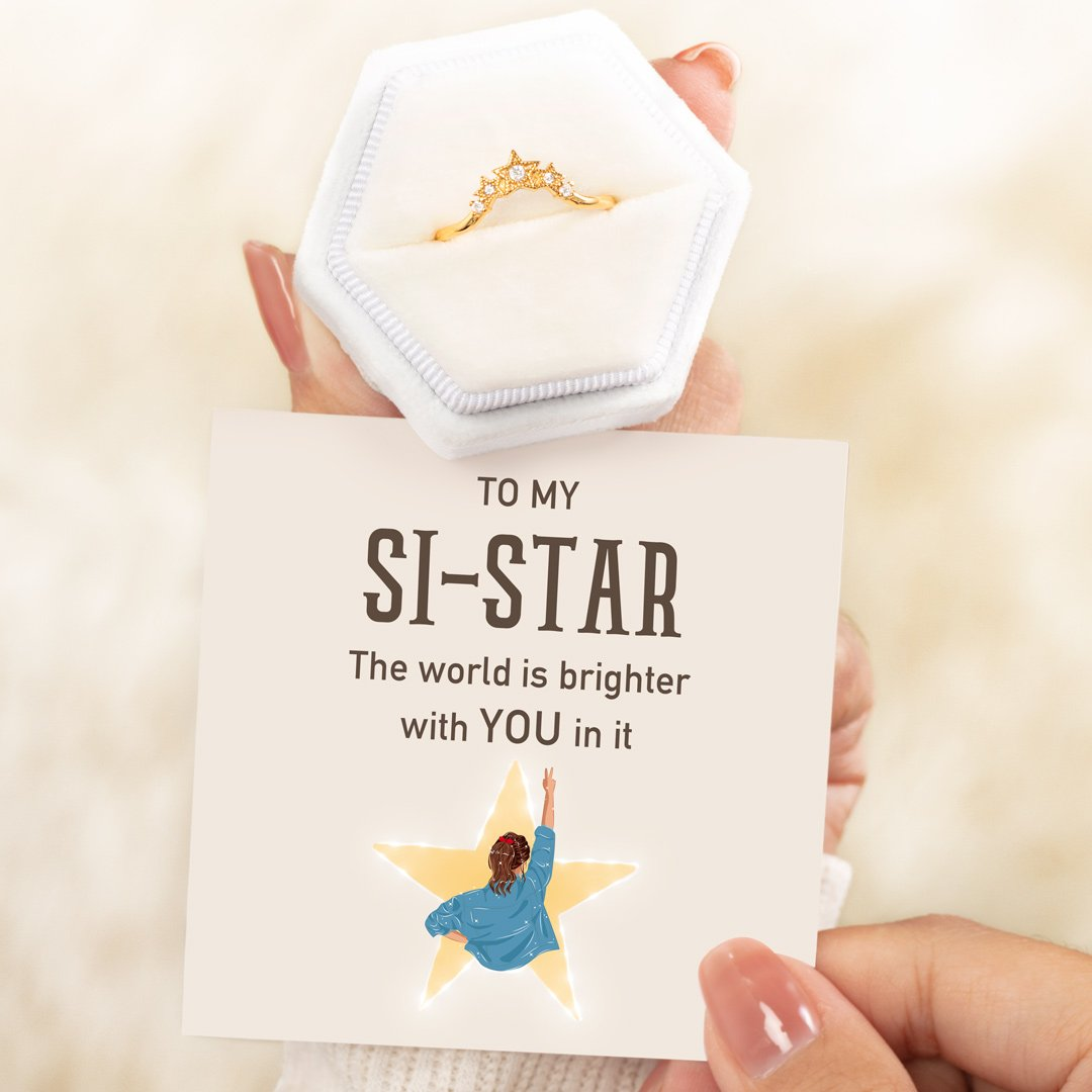 Crown Of Stars Ring - Si-Star