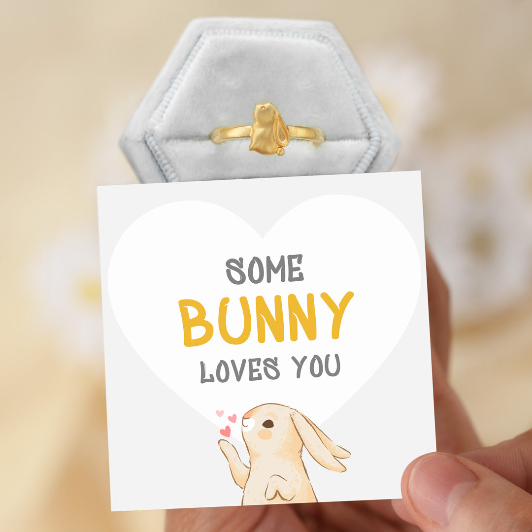 Bunny Ring-Some Bunny Loves You