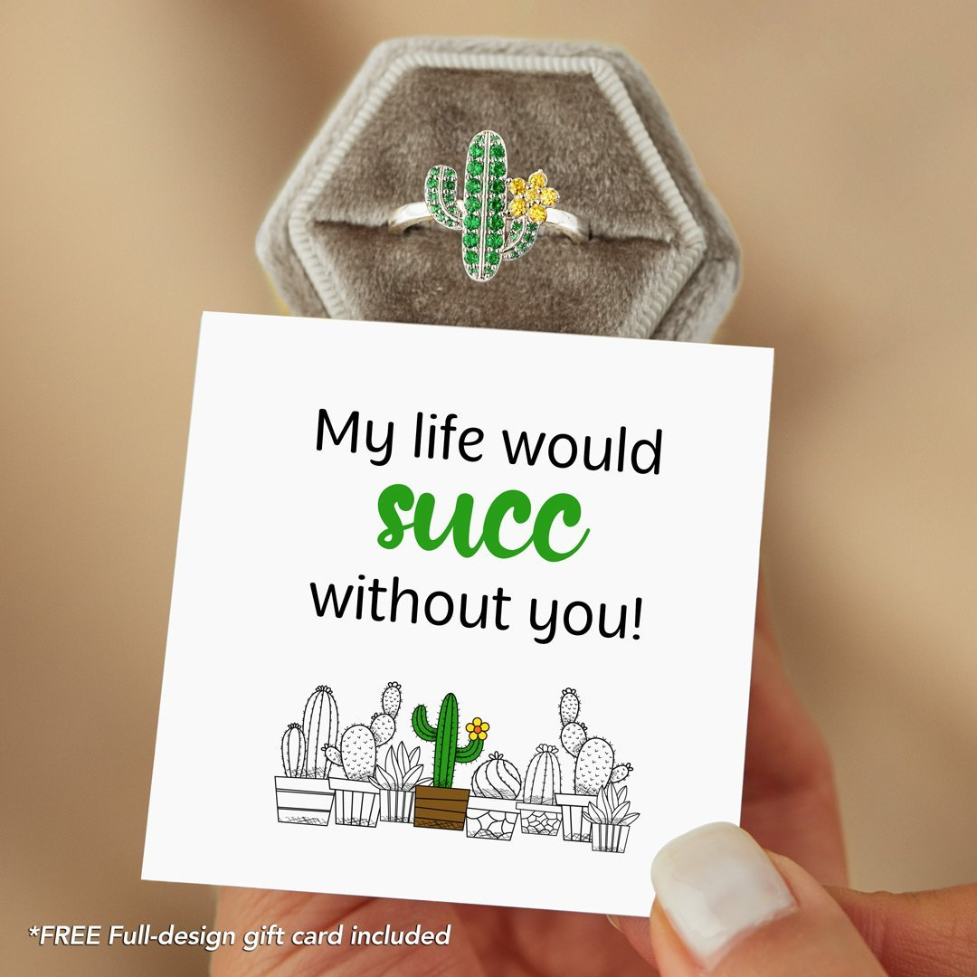 Cactus Ring - My Life Would Succ Without U
