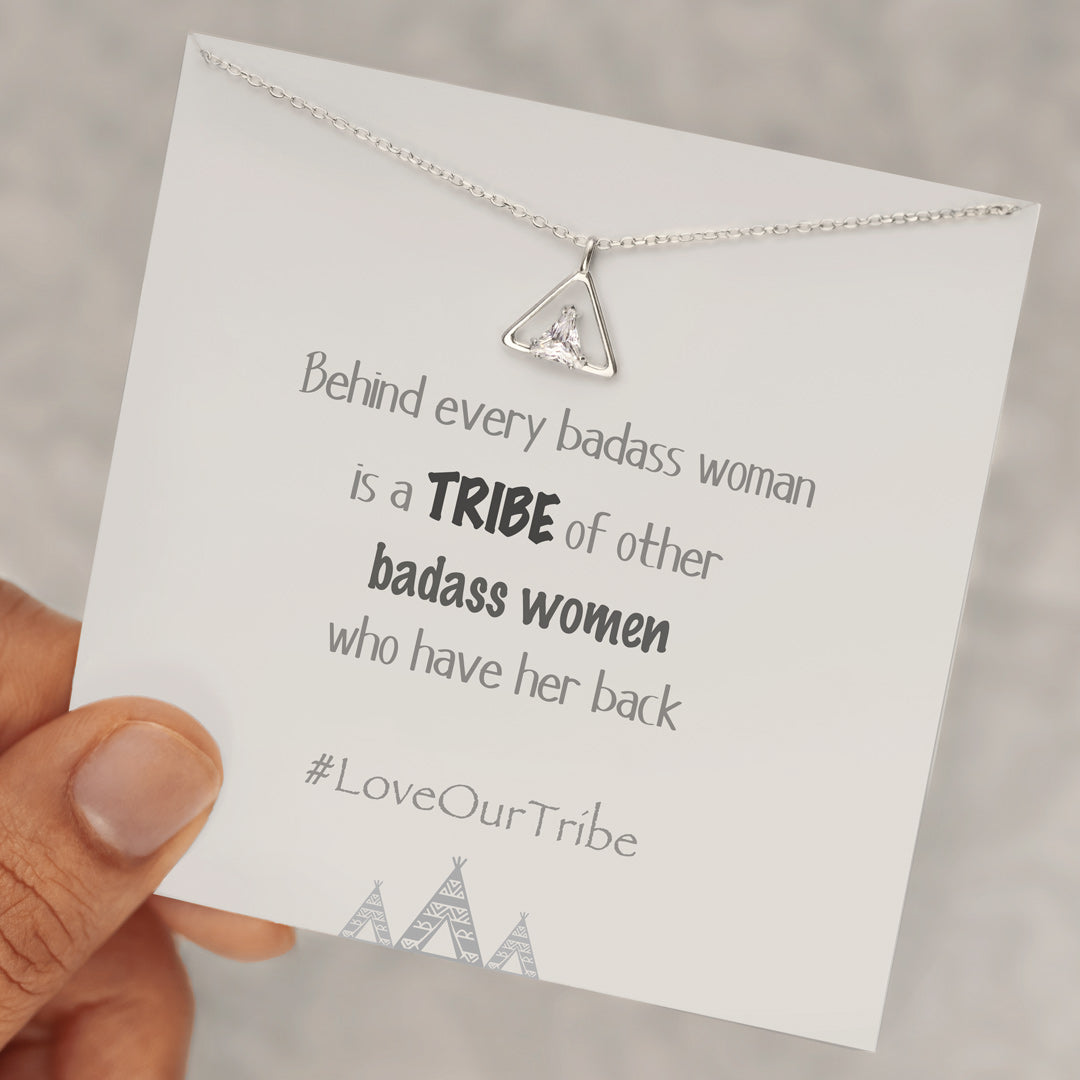 Tribe Necklace-Tribe of Badass Women