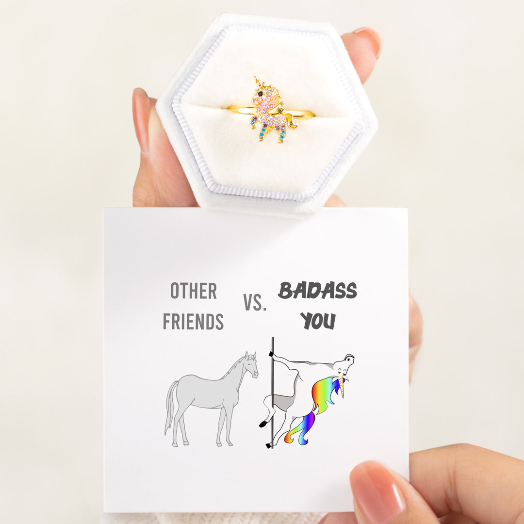 Unicorn Ring - Other Friends VS. Badass You