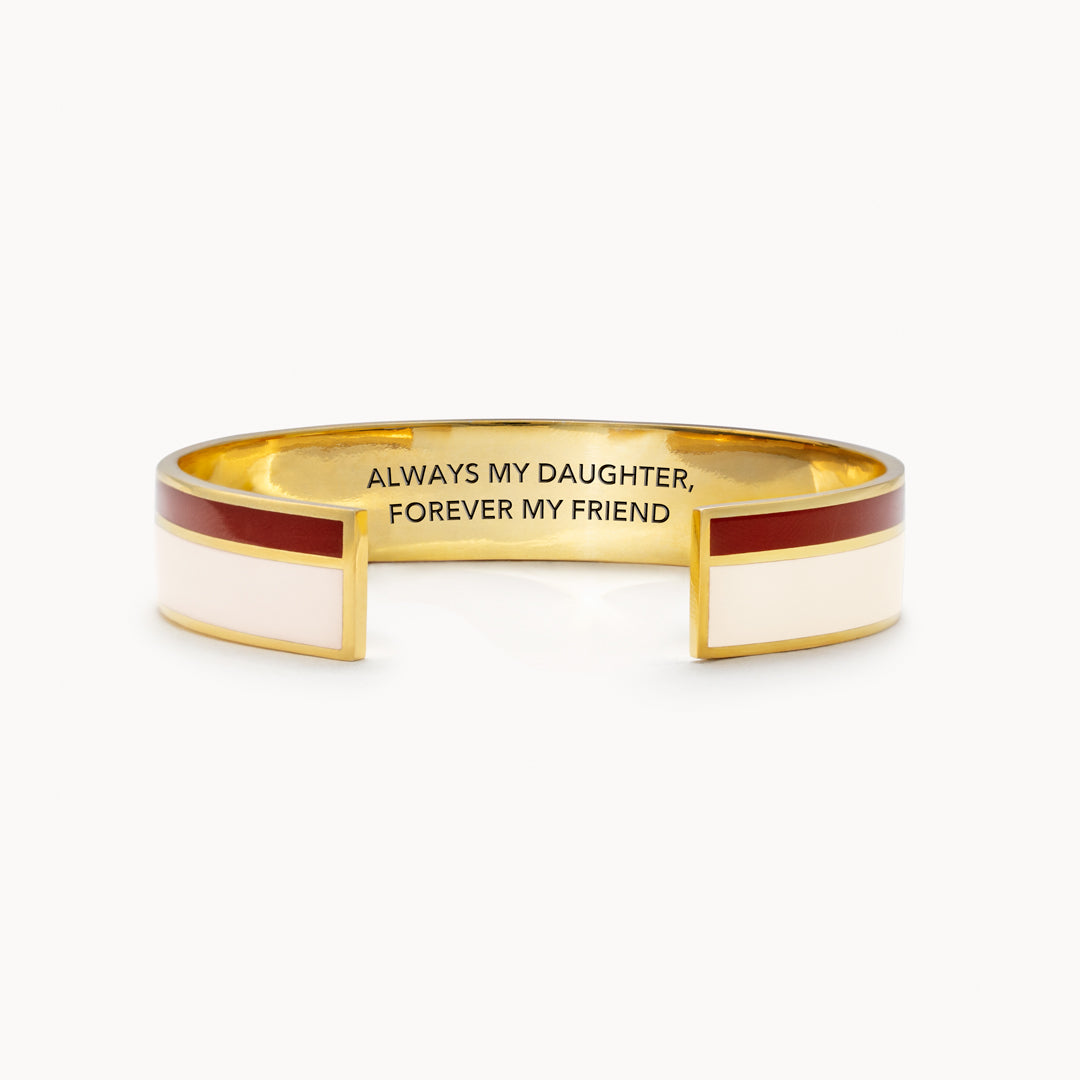 Color Stripes Bangle - Always My Daughter