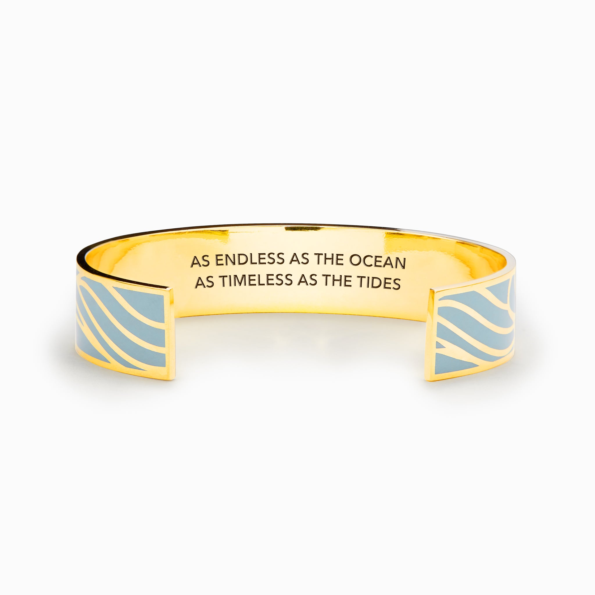 As Endless As The Ocean As Timeless As The Tides Bangle