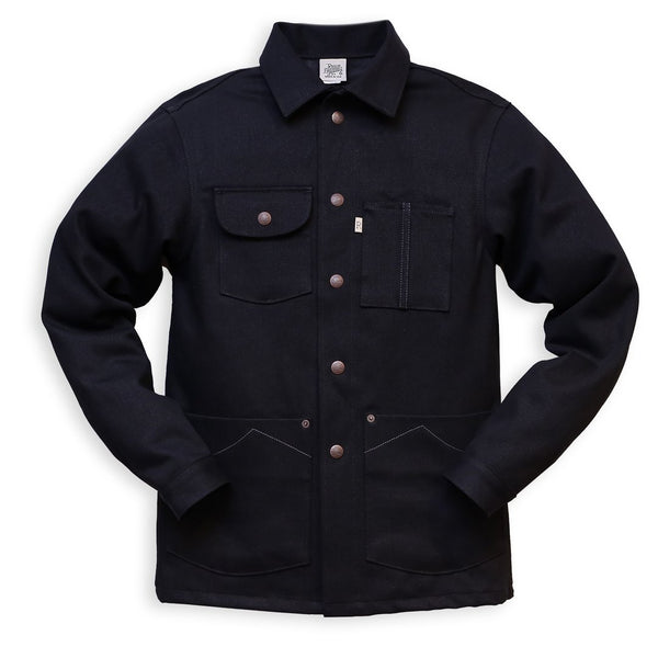 RAILCAR CHORE COAT BLACK