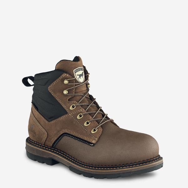 RED WINGS IRISH SETTER RAMSEY 2.0 MEN'S 6-INCH WATERPROOF LEATHER SAFETY TOE BOOT