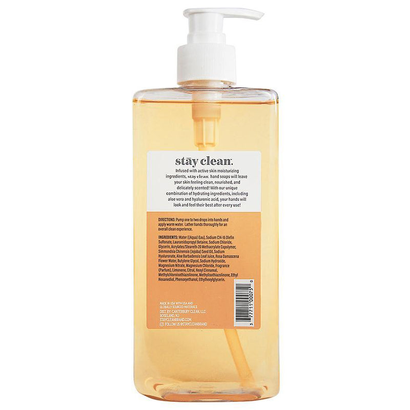 Hand Soap (Lemon-Citrus), 16 FL. OZ. (473.2 ML) - Twin Pack