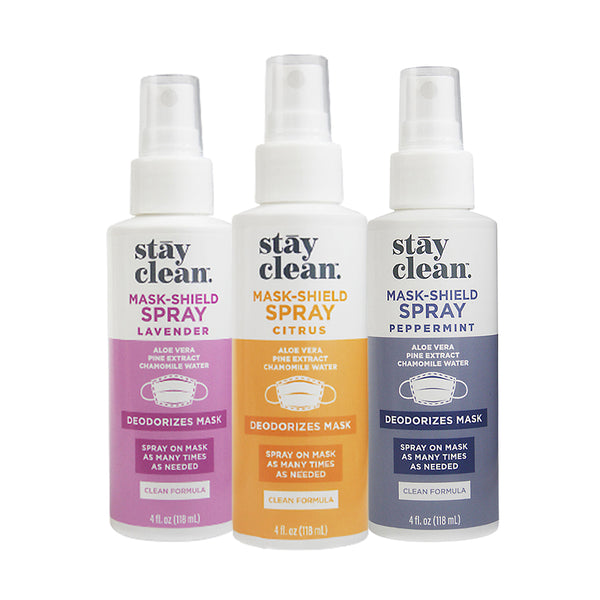 Mask-Shield Spray - Variety Pack (Citrus, Lavender, Peppermint)