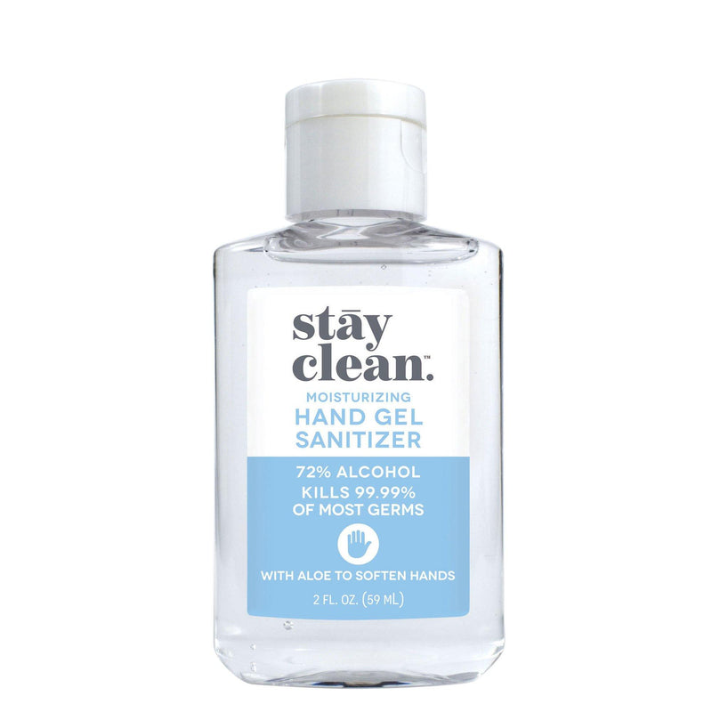 Moisturizing Hand Gel Sanitizer (Variety), 2 FL. OZ. (59 ML) - 6 pack