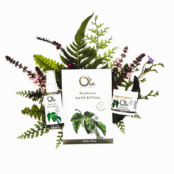 Rainforest Spa Ritual Gift Set