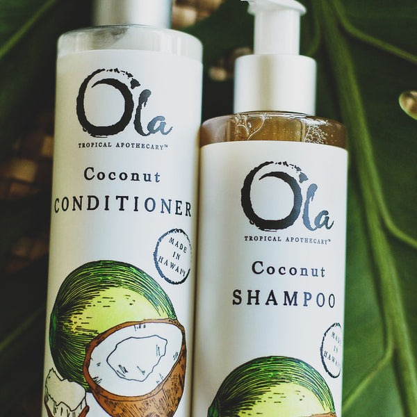 Coconut Shampoo + Conditioner Pair | 2- 8 fl oz Bottles