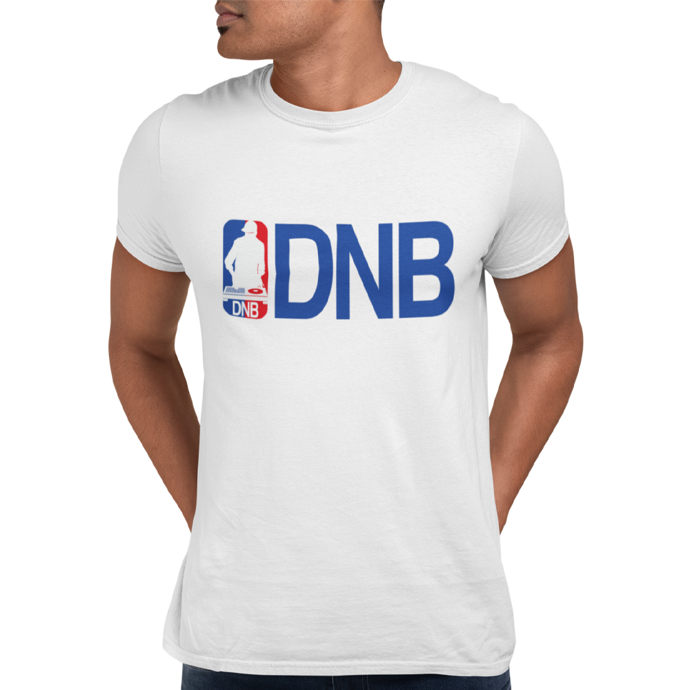 Unisex Heavyweight T Shirt - Drum and Bass (NBA Style)