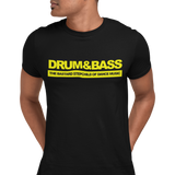 Unisex Short Sleeve T Shirt - Drum & Bass The Bastard Son Of Dance Music