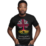 Unisex Heavyweight T Shirt - British Grown with Ghanian Roots