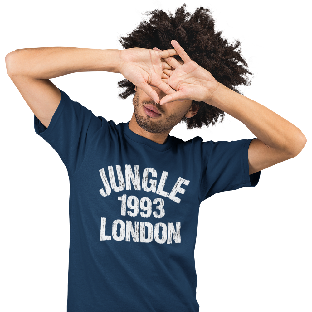 Unisex Heavyweight T Shirt - Jungle 1993