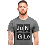 Unisex Heavyweight T Shirt - Jungle Elements