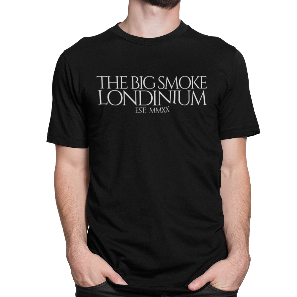 "Unisex Heavyweight T Shirt - The Big Smoke ""Est MMXX"""