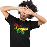 Unisex Heavyweight T Shirt - It's a Junglist Ting