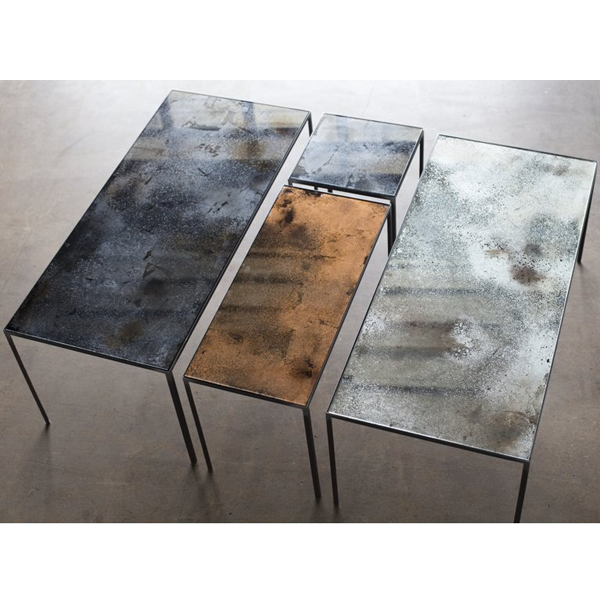 Medium Charcoal Patchwork Coffee Table