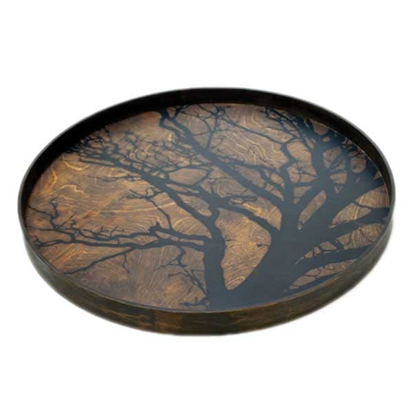 Black Tree Tray