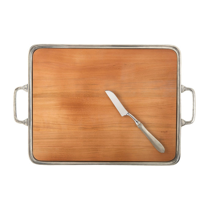 Extra Large Cheese Tray with Handles