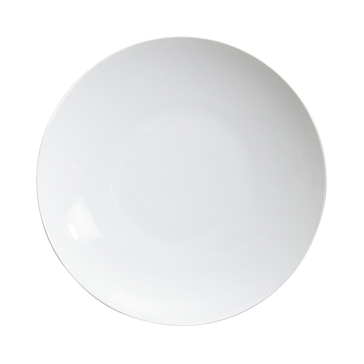 Loft White Porcelain Dinner Plate