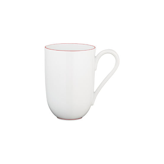 Monceau Red Porcelain Mug