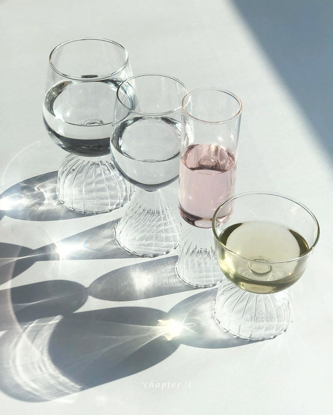 Tutu White Wine Glass Set of 4