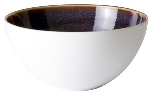 Art Glaze - Pressed Mulberry Cereal Bowl