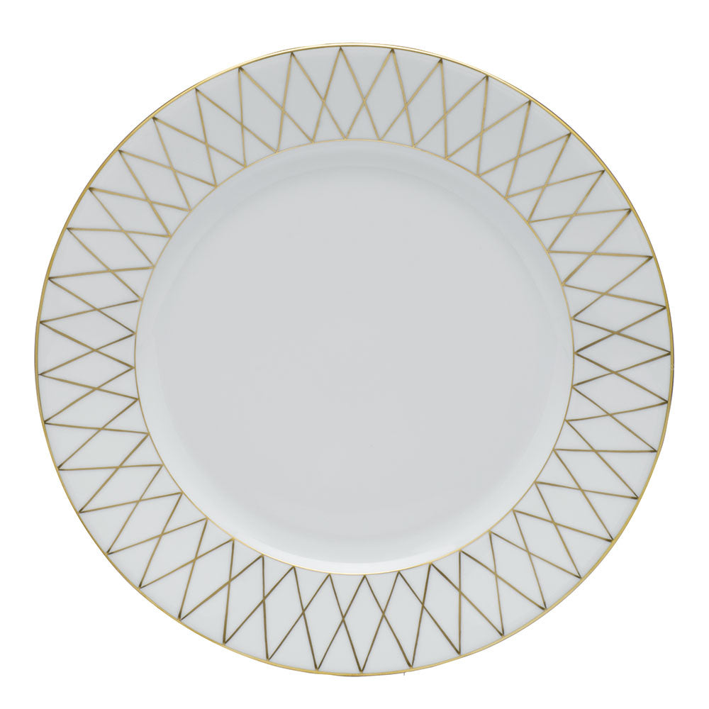 Golden Trellis Dinner Plate