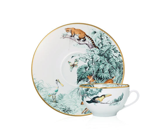 Carnets d'Equateur Breakfast Cup and Saucer
