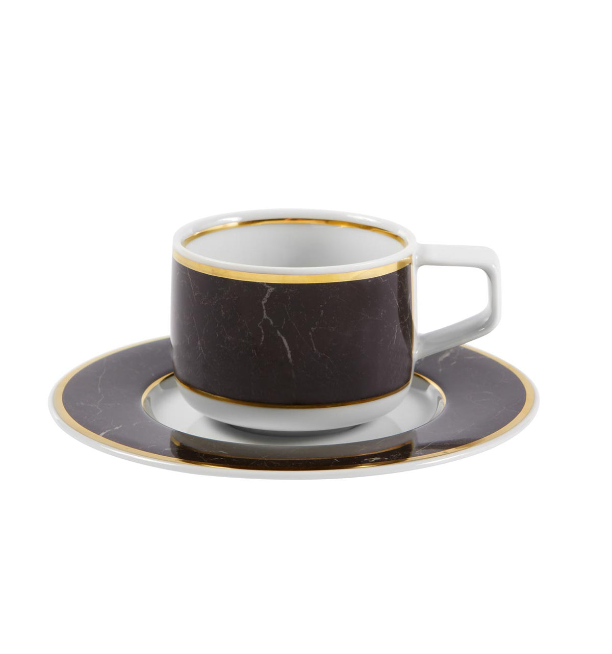 Carrara Coffee Cup & Saucer