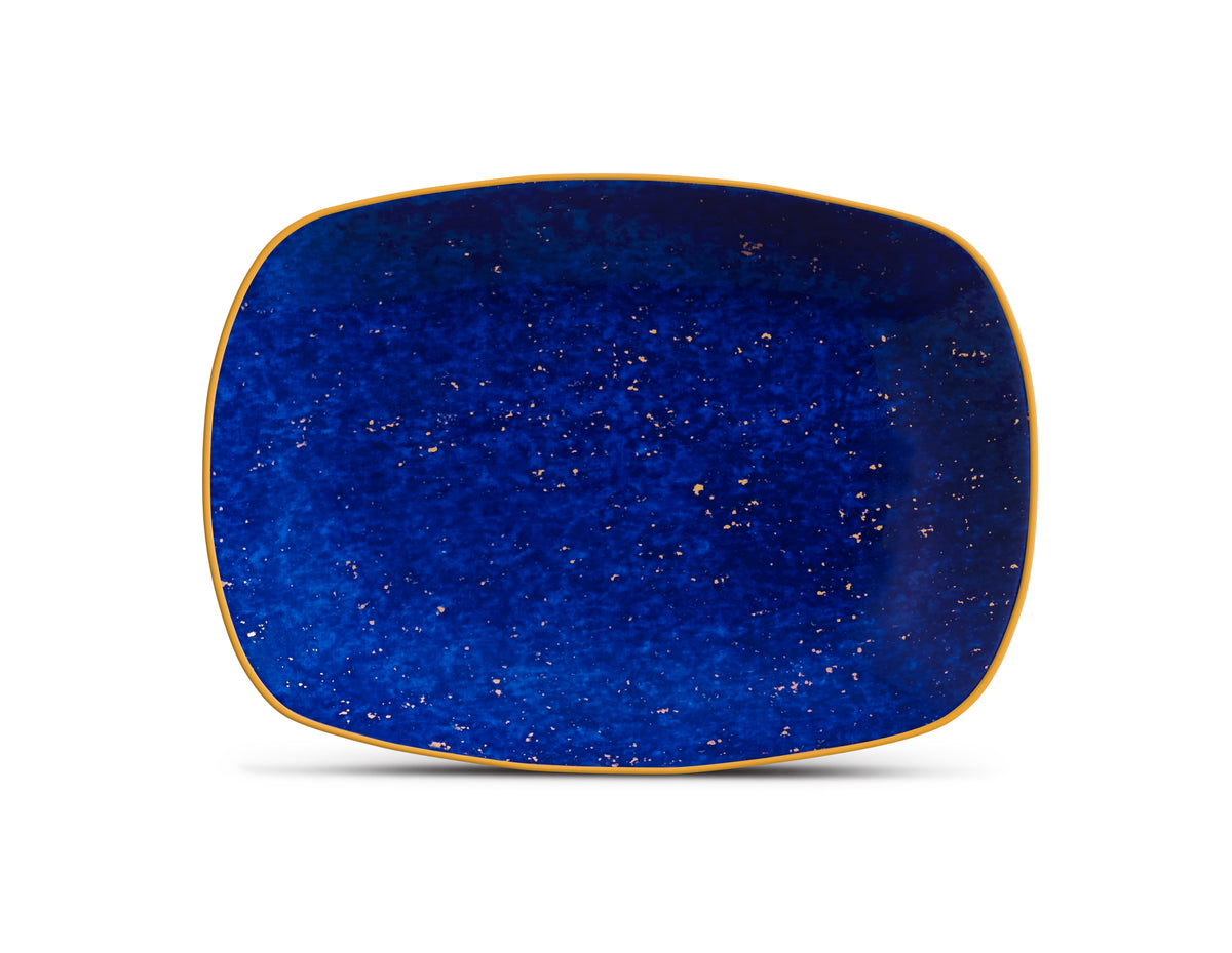 Small Lapis Rectangular Tray