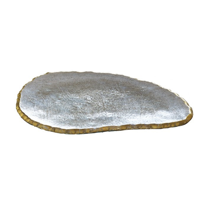 Large Edgey Cheese Slab Gold