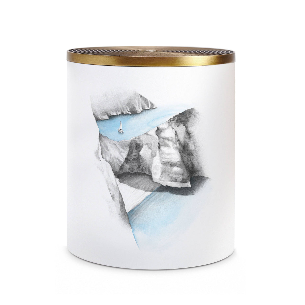 #3 Eau d'Egee Candle - Large 3-wick