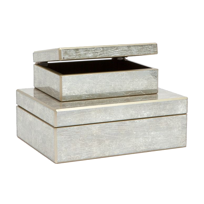 Lark Silver Box Small