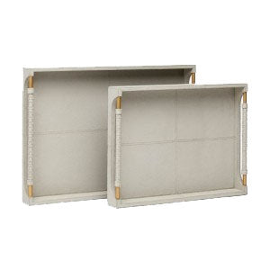 Lenora Tray Light Gray Large